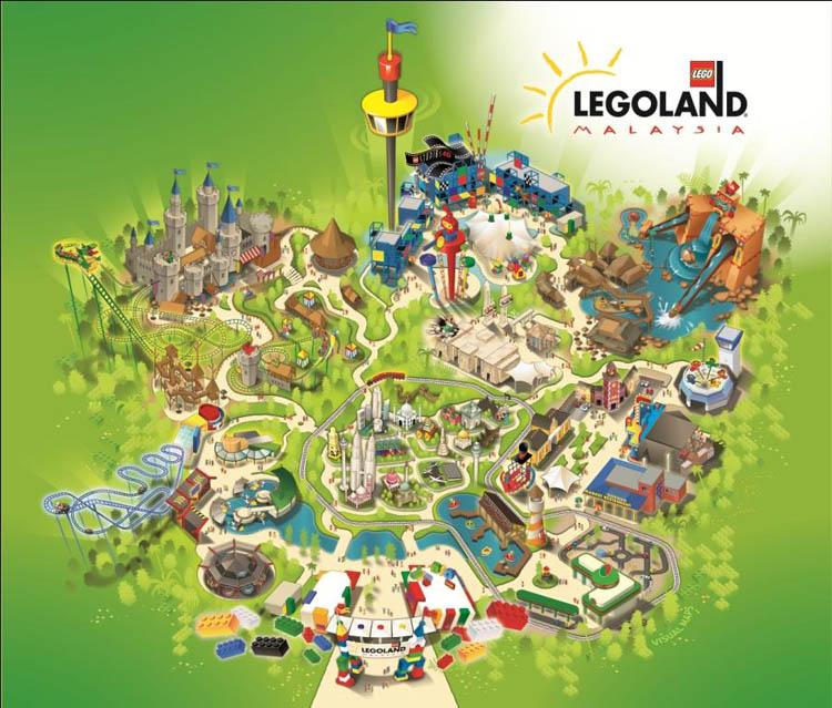 Harga Tiket Legoland Malaysia | Kena Pecah Tabung Anak Macam Ni ....