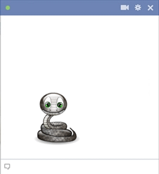 Facebook Snake Emoticon