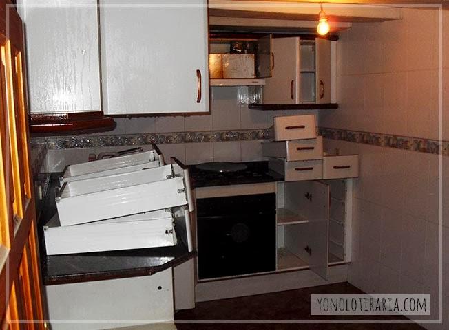 Pintar Muebles Cocina Melamina | Mi Cocina Antes Y Despues Argh Yonolotiraria Yonolotiraria
