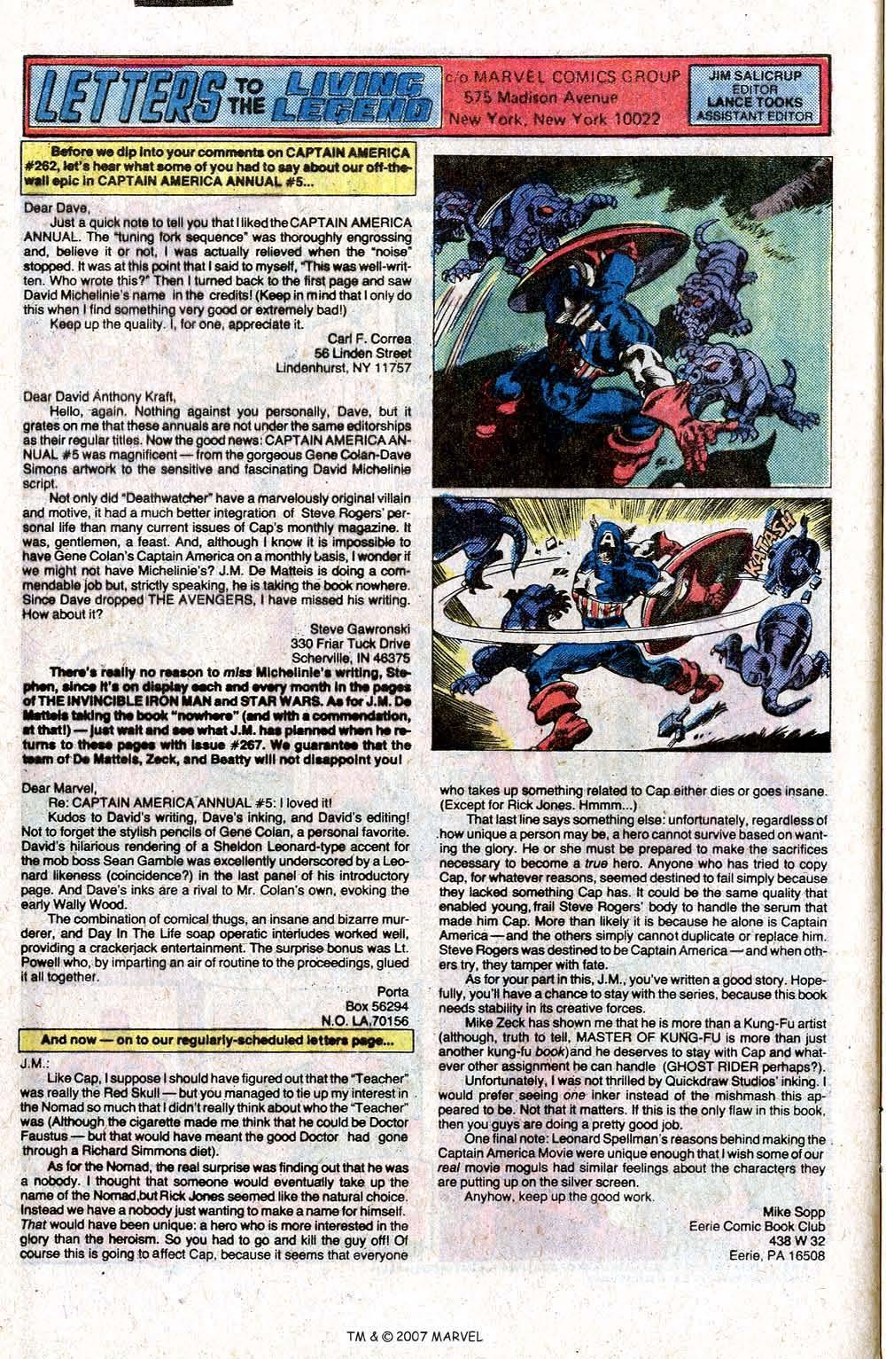 Captain America (1968) Issue #266 #181 - English 32