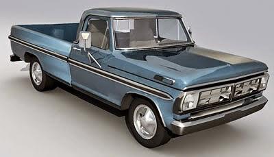 Ford pickup truck 3d model free - Pick up mobel kiel ...