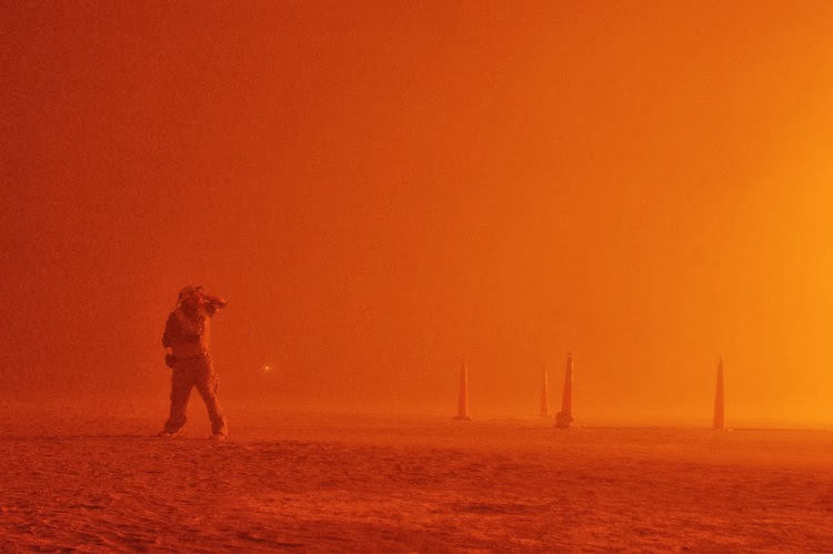 ranger at the man burn, burning man 2010