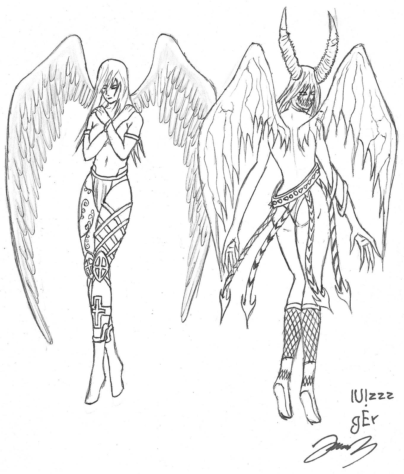 Asombroso Páginas Para Colorear De ángeles Inspiración - Dibujos ...