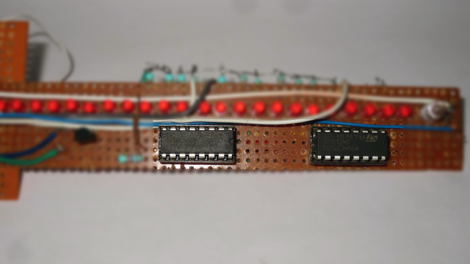 Arduino Electronics Make A Propeller Clock Using Ledclockcircuitboard2jpg Add Two Shift Register In The Circuit