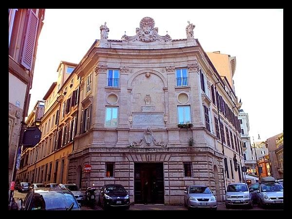 Palazzo del Banco di S. Spirito w Rzymie