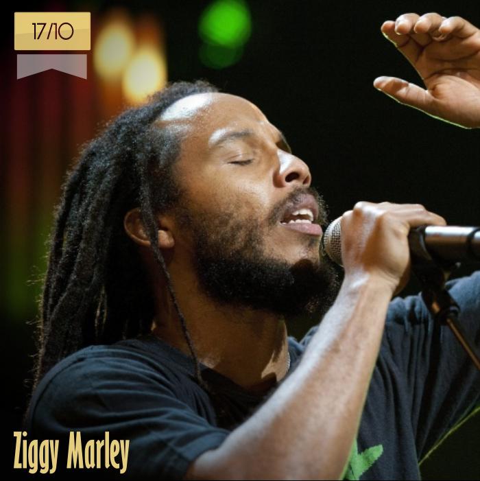 17 de octubre | Ziggy Marley - @ziggymarley | Info + vídeos