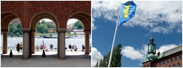 ayuntamiento estocolmo stockholm city hall river bridge water building