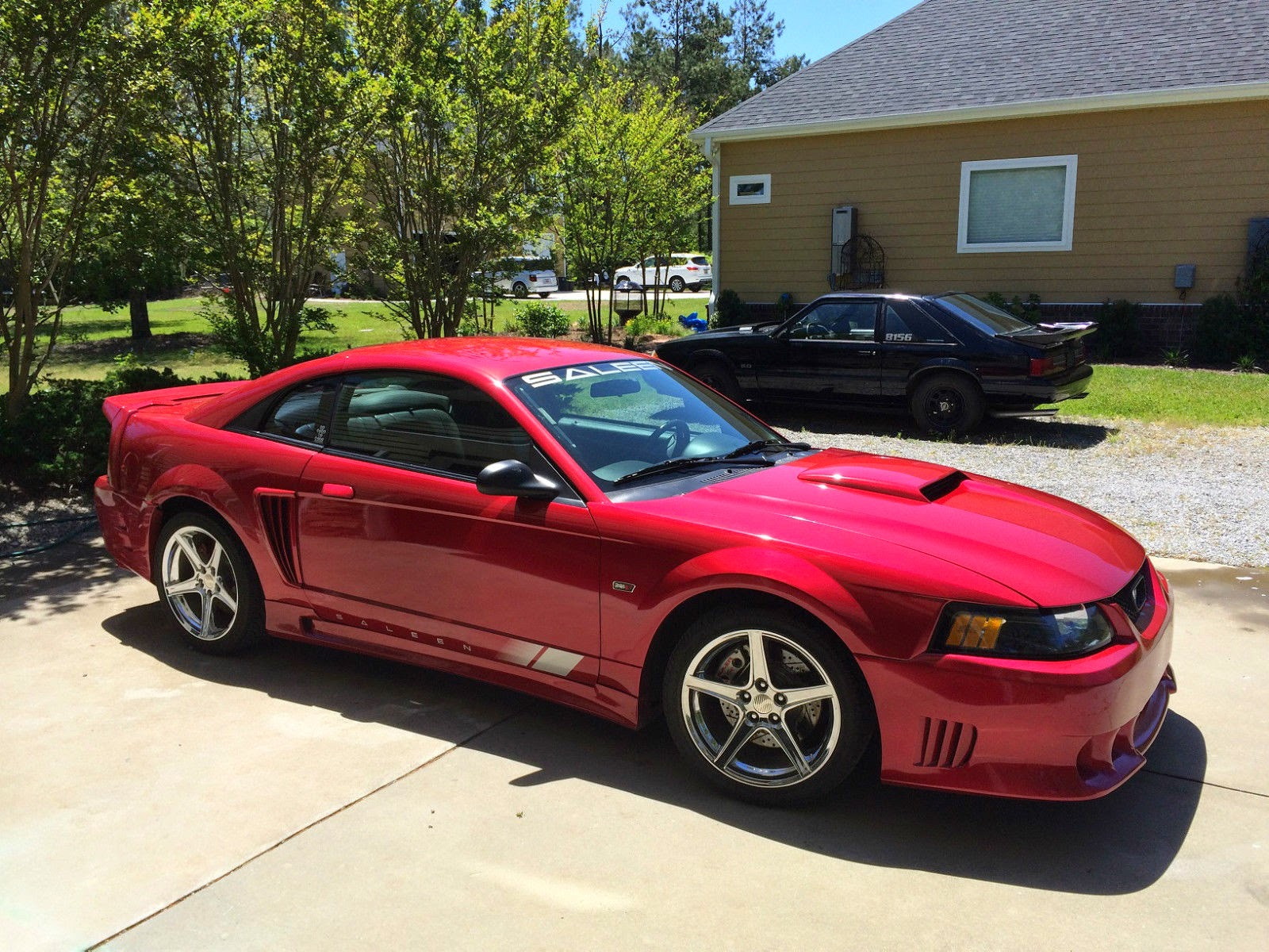 2002 ford mustang saleen s281 coupe for sale american muscle cars. Black Bedroom Furniture Sets. Home Design Ideas