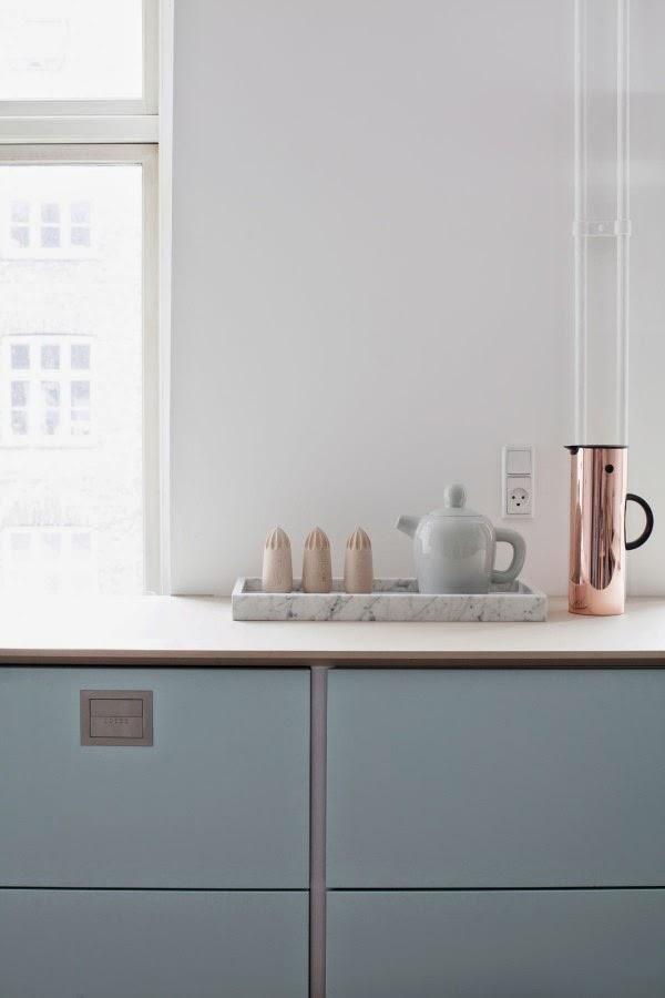 my scandinavian home A Danish kitchen in pretty pastels