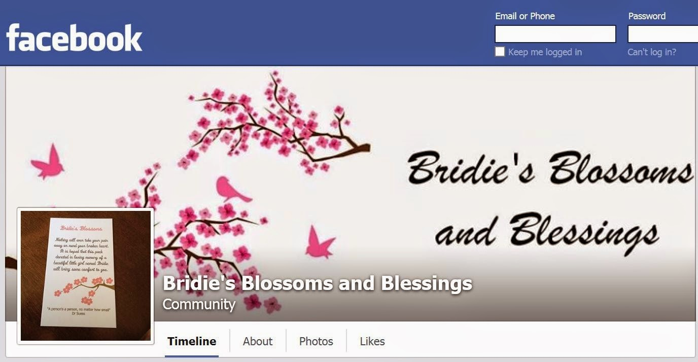 Bridie's Blossoms and Blessings Facebook