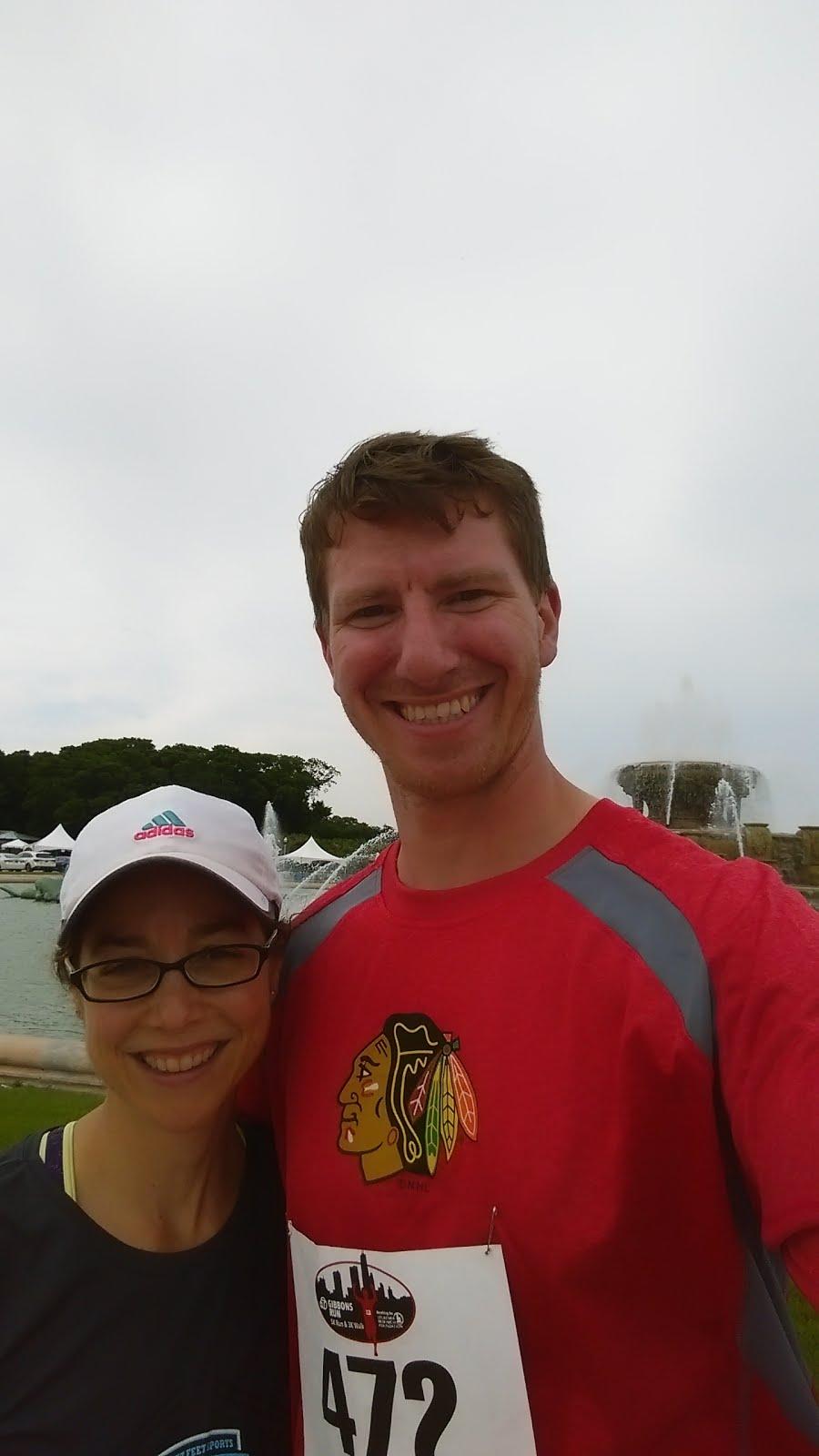 Pre-Race Selfie
