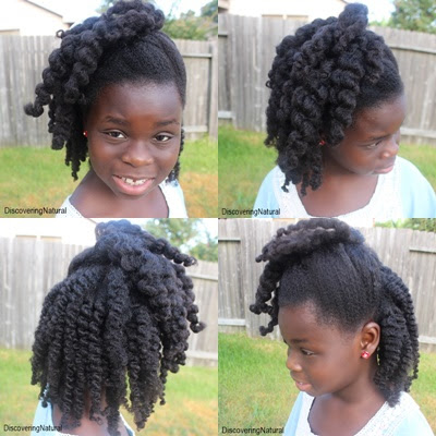 Mid-week Styling: Chunky Twists and Normal Twists Natural Hair
