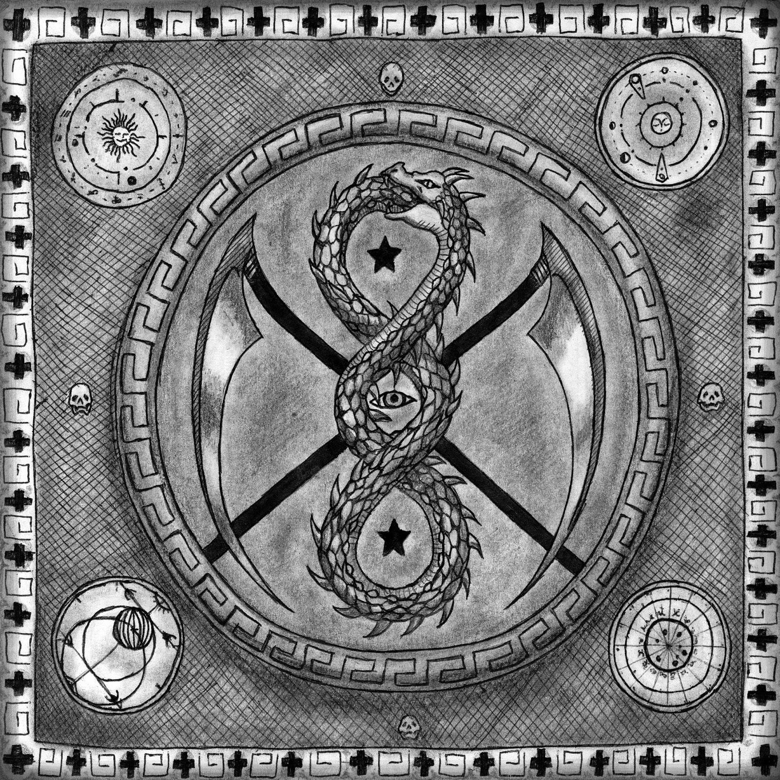 Corniger Calvariam - Ocultismo Contratapa