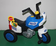 New Police Motorbike Tricycle RM120 only!!!