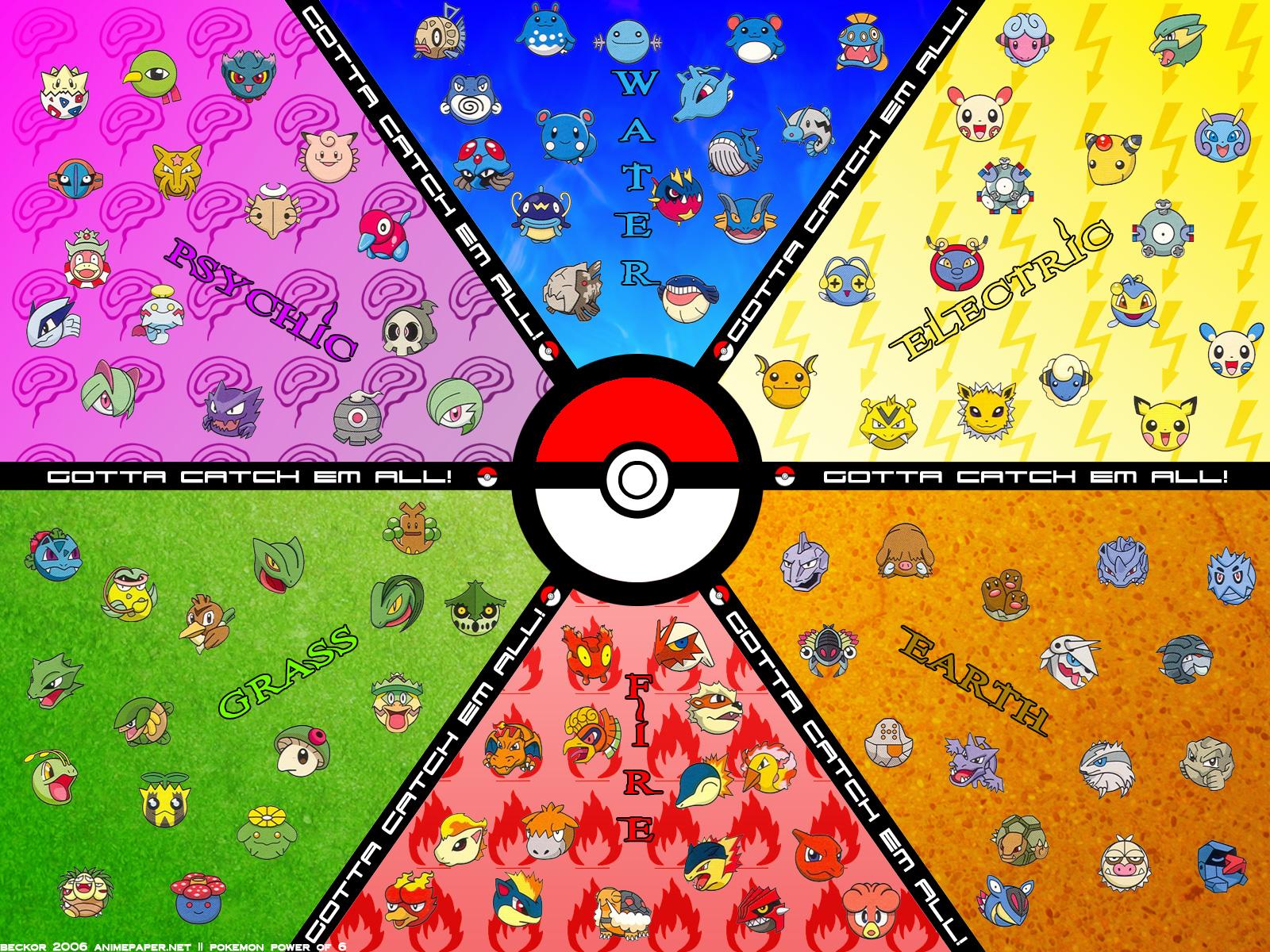Epic Starter Pokemon Wallpaper