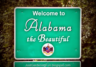 Welcome to Montgomery in the Beautiful State of Alabama Sign