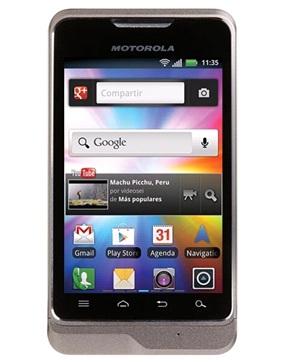 Motorola Moto Smart (XT389) Gris Tienda Claro Perú