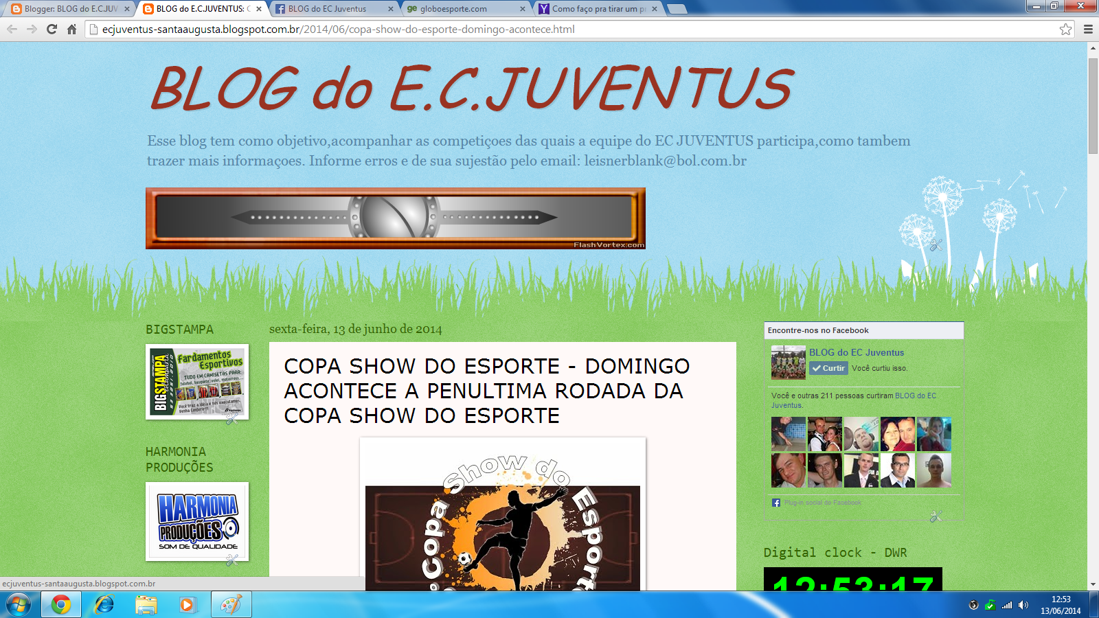 BLOG DO EC JUVENTUS