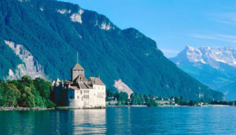 Chateau de Chillon, Switzerland, fastest broadband internet, hellotravel