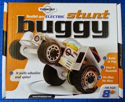Build an electric stunt buggy kit from Interplay