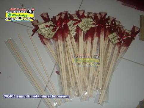 sumpit melamin satu pasang murah
