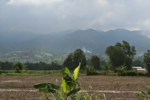 Farmland around Nyaungshwe