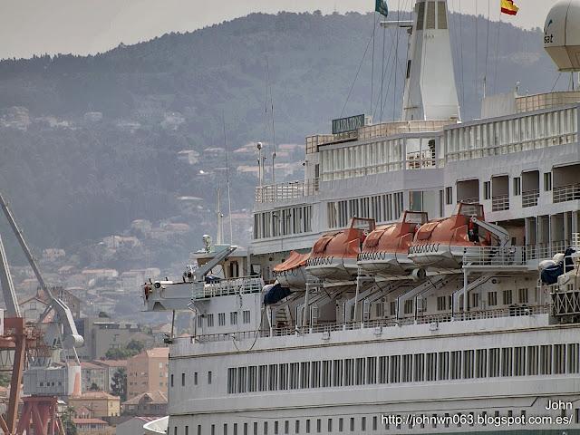 fotos de barcos, imagenes de barcos, albatros, cruceros, vigo