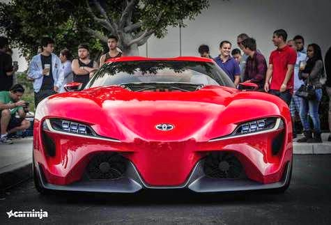 2014 Toyota FT1 back