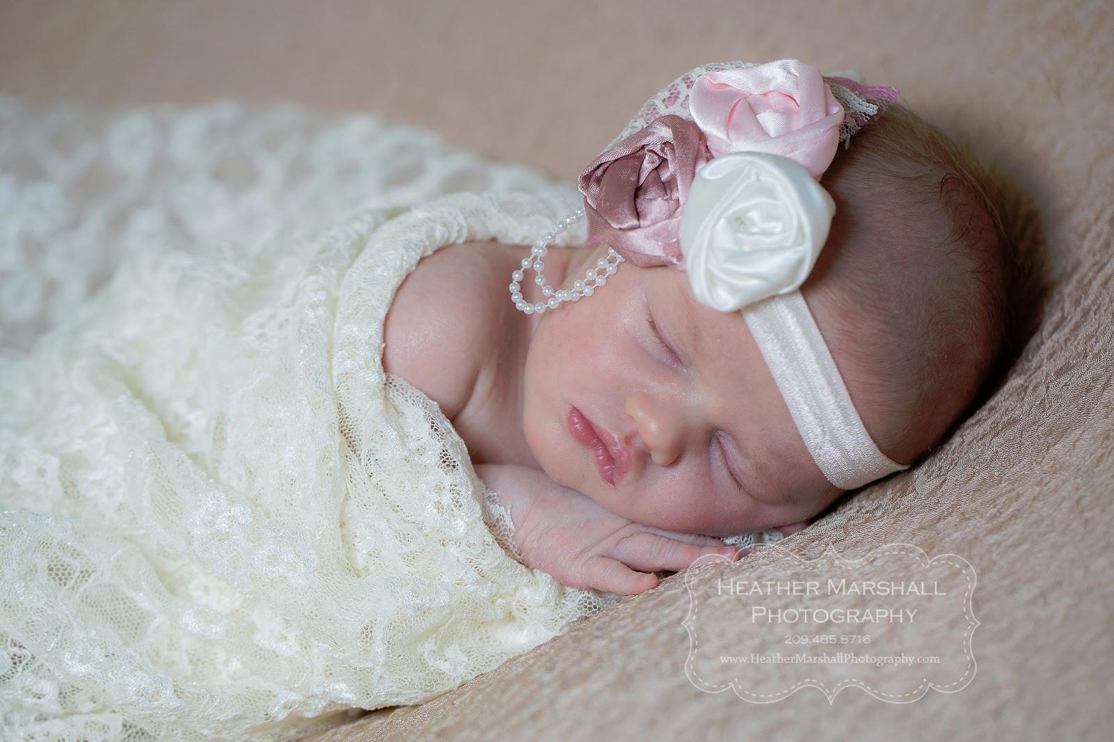 Newborn photographer modesto ca heather marshall photography