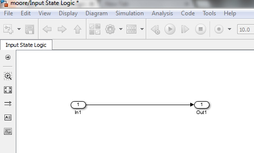 moore machine construction in simulink