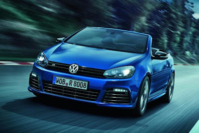 Volkswagen Golf R Convertible (2013) Front Side
