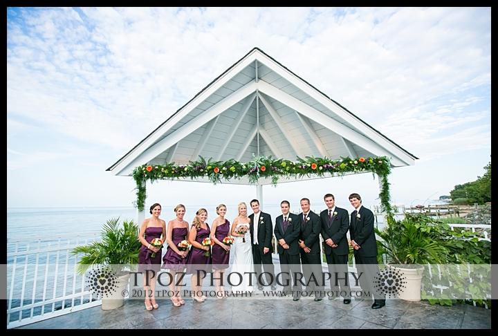 Bridal Party Kurtz's Beach Wedding Reception