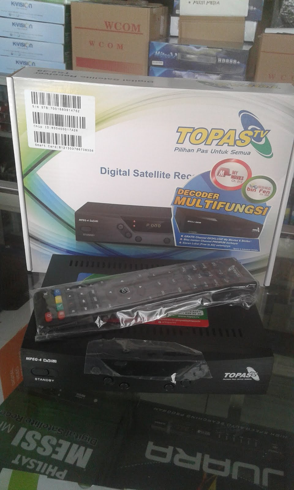 DECODER TOPAS TV HD