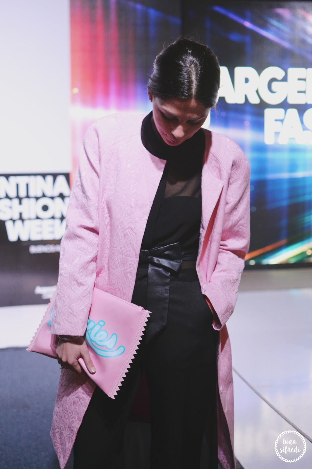 Pamela-victoria en Argentina Fashion Week 2015