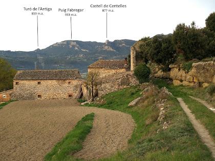 Panoràmica del conjunt d'Esparreguera