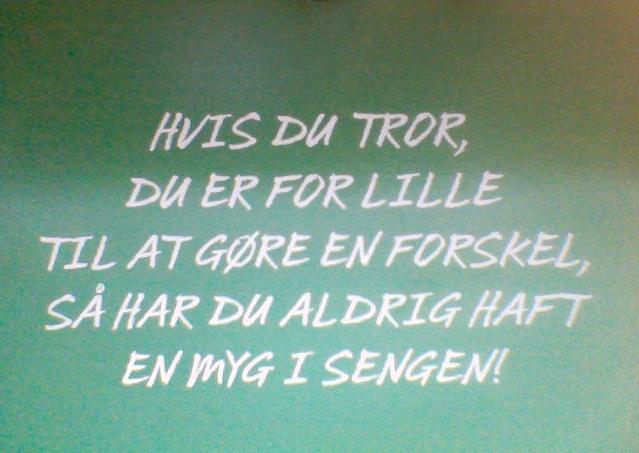 Lette annonceringer com Danske ord w