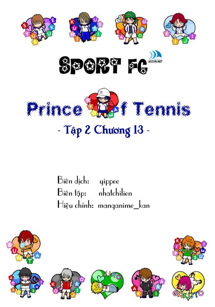 Prince of Tennis chap 13 Trang 1