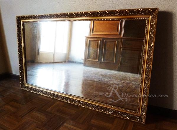 Retroalmacen tienda online de antig edades vintage y for Espejo grande pared precio
