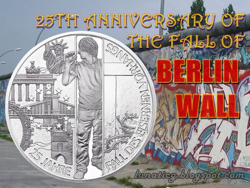 Berlin Wall coin