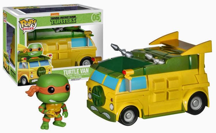 05.- Furgoneta de las Tortugas Ninja Funko Pop!
