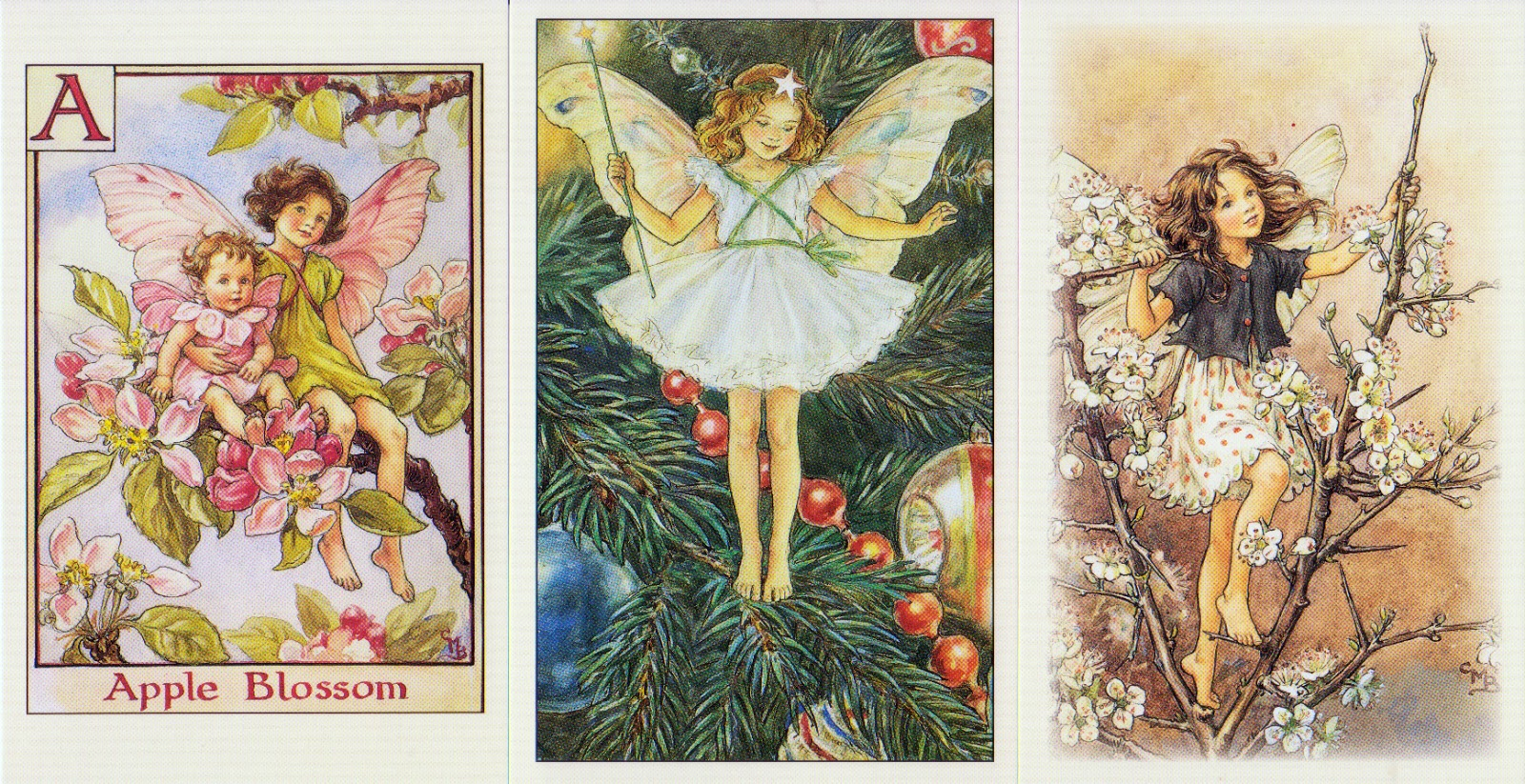 Flower Fairies e Hundred Postcards by Cicely Mary Barker