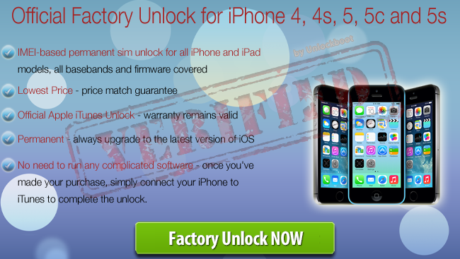 Official iOS 7.0.5 Unlock
