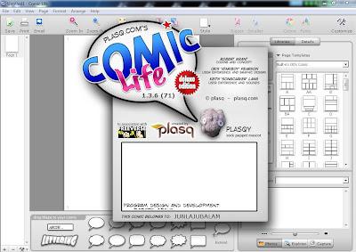 Comic Life Menu