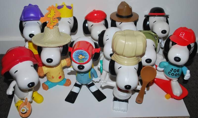 Natuurlijk moest je ook alles hebben wat met Snoopy te maken had