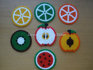 Lote de posavasos Tutti-frutti