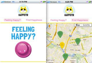 Aplicación para saber en qué lugares las personas son felices