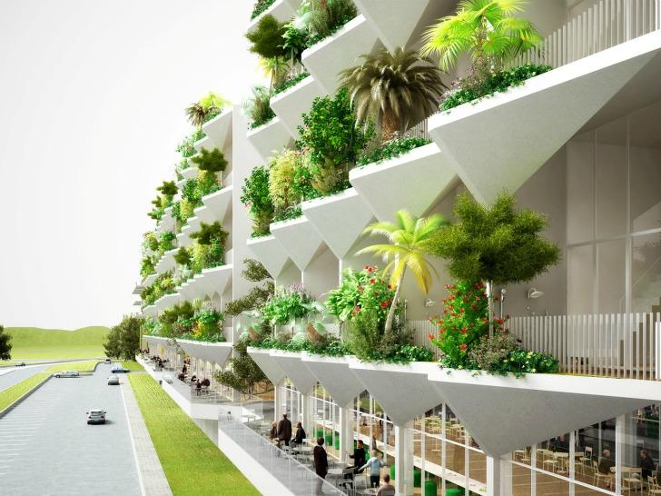Allpe medio ambiente blog un hotel con for Green hotel design