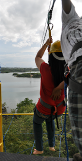 ziplining at Papa Kits at Liloan Cebu