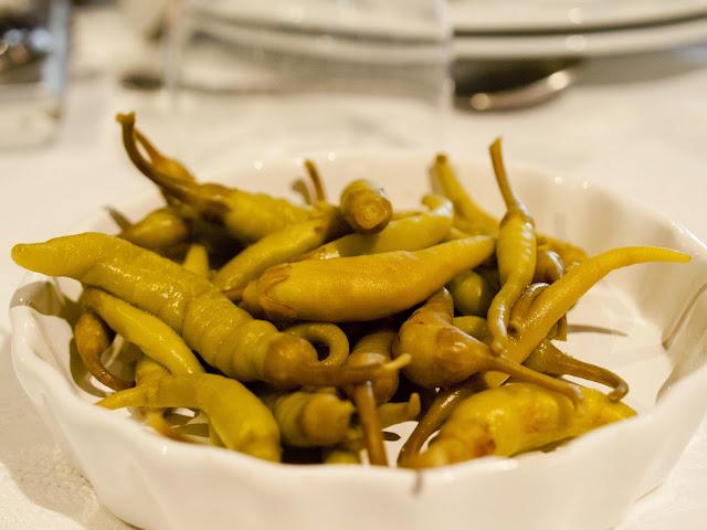 Piperrak del Restaurante Aurrekoetxe de Mungia