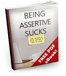 Book image: Being Assertive Sucks